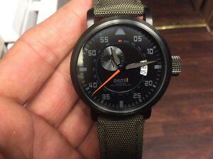 【送料無料】 腕時計 ブラックダイバーメンズウォッチ