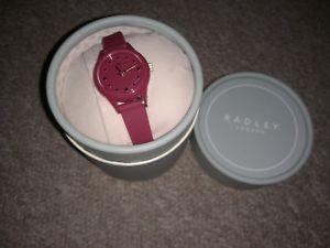 【送料無料】 腕時計 ラドリーbnibシリコーンピンクradley watch bnib womens silicone strap pink dog