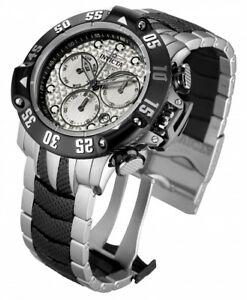 【送料無料】 腕時計 メンズクロノグラフトーンブレスレット mens invicta 23804 50mm subaqua poseidon chronograph two tone bracelet watch