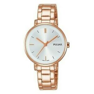 【送料無料】 腕時計 パルサーph8340x1pnppulsar ladies rose gold plated watchph8340x1pnp