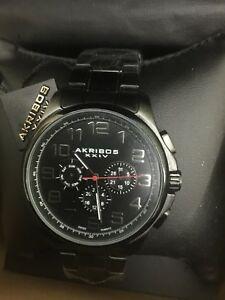 【送料無料】 腕時計 akribosxxivスイスクオーツ45mmケース