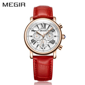 【送料無料】 腕時計 megirクオーツクリスマスmegir luxury fashion women watches ladies quartz xmas gifts for her wife sister
