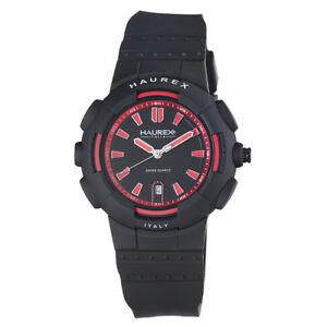 【送料無料】 腕時計 haurex2p504urnプラスチックケースゴムウォッチ