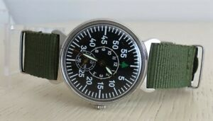 【送料無料】 腕時計 pobedashturmanskie lacoussrニューnatopobeda wrist watch shturmanskie laco green military ussr  nato strap