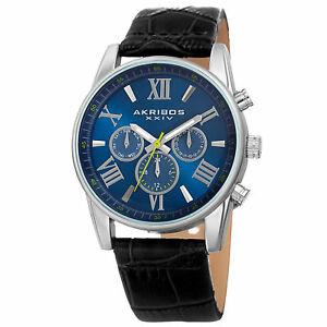【送料無料】 腕時計 akribos xxivclasssicak911ssbuakribos xxiv mens classsic ak911ssbu wrist watch