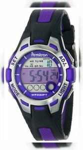 【送料無料】 腕時計 アーミトロンスポーツ457030ディジタルクロノグラフarmitron sport womens 457030 digital chronograph resin strap watch
