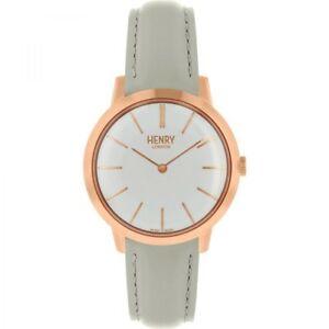 【送料無料】 腕時計 ヘンリーロンドンレディースローズゴールドウォッチhenry london ladies rose gold plated watch hl34s0220hlnp