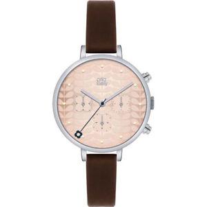 【送料無料】 腕時計 アイビーレディースステンレススチールクロノグラフorla kiely ivy ladies stainless steel chronograph watch ok2017oknp