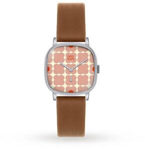 【送料無料】 腕時計 アイリスレディースストラップorla kiely iris ladies leather strap watch ok2023oknp