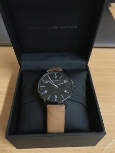 【送料無料】 腕時計 フレンチコネクションウォッチfrench connection leather watch