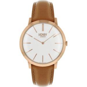 【送料無料】 腕時計 ヘンリーロンドンヘントローズウォッチhl40s0240hlnphenry london gents rose gold plated watch hl40s0240hlnp