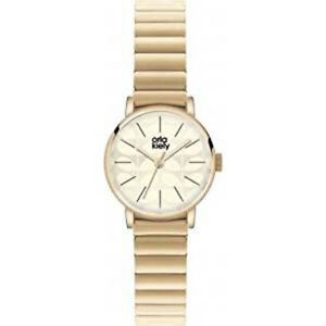 【送料無料】 腕時計 レディースブレスレットorla kiely frankie ladies gold plated bracelet watch ok4010oknp