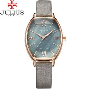 【送料無料】 腕時計 オーバーバストノーローズユリウスas fr11426 impermeable a leau 3bar en acier inoxydable tonneau or rose julius