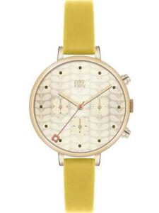 【送料無料】 腕時計 アイビーレディースクロノグラフorla kiely ivy ladies gold plated chronograph watch ok2038oknp