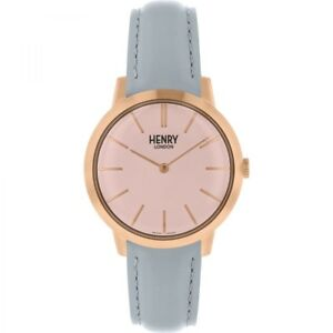 【送料無料】 腕時計 ヘンリーロンドンhl34s0228hlnphenry london ladies rose gold plated watch hl34s0228hlnp