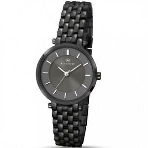 【送料無料】 腕時計 accurist8089ブラックウォッチ