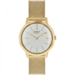 【送料無料】 腕時計 ヘンリーロンドンレディースゴールドメッキウォッチhenry london ladies gold plated watch hl34m0232 hlnp