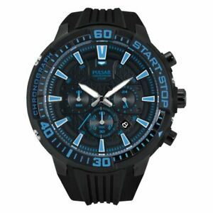 【送料無料】 腕時計 パルサートイレクロノグラフゴムウォッチpt3507x1xpnppulsar gents chronograph rubber strap watch pt3507x1xpnp
