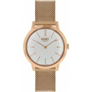 【送料無料】 腕時計 ヘンリーロンドンレディースローズゴールドメッキウォッチhenry london ladies rose gold plated watch hl34m0230 hlnp