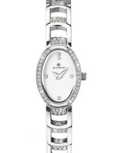 【送料無料】 腕時計 accurist8034accurist ladies crystal set watch 8034