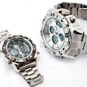 【送料無料】 腕時計 クロノグラフmetal chronograph watch