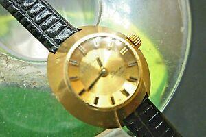【送料無料】 腕時計 レディースシェルパスターマニュアルピンクゴールドladies 23mm enicar sherpa star 17j manual wind pink gold