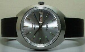 【送料無料】 腕時計 ビンテージラジャアンティークvintage hmt rajat automatic day date ss wrist watch old used antique r802