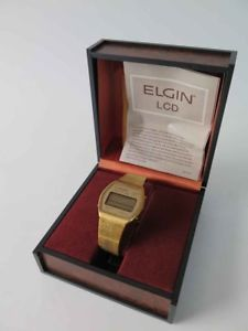 【送料無料】 腕時計 オリジナルヴィンテージelgin lcd vintage elgin lcd wrist watch with original box