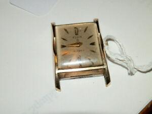 【送料無料】 腕時計 #エルギンkゴールドヴィンテージ9200,elgin 19j,732,10k gold filled vintage wristwatch
