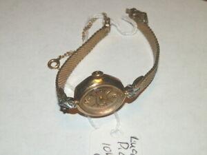 【送料無料】 腕時計 #kゴールドビンテージ5970,lucien piccard 10k gold filled dufonte vintage 17j wristwatch