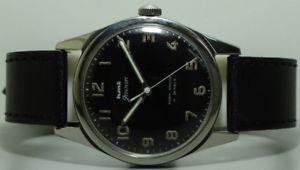 【送料無料】 腕時計 ビンテージメンズアンティークvintage hmt military winding 17 jewels mens wrist watch s609 old used antique