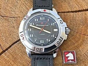 【送料無料】 腕時計 ヴォストークソロシアvostok komandirskie soviet military men wrist watch russian  811186 sssss