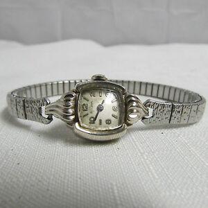 【送料無料】 腕時計 ビンテージkゴールドプレートレディースロールバックvintage bulova 17j 10k rolled gold plate ladies wrist watch running look