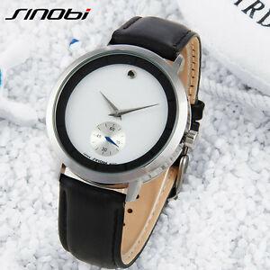 【送料無料】 腕時計 ブランドメンズレザーステンレススチールクオーツsinobi brand watch mens waterproof leather stainless steel quartz wristwatch