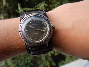 【送料無料】 腕時計 ソビエトロシアヴォストークussr russian vostok wostok komandirskie amphibia watch, military, antimagnetic