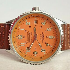 【送料無料】 腕時計 ロシアヴォストークウォッチrussian watch vostok century time auto or