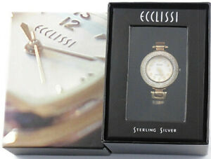 【送料無料】 腕時計 スターリングシルバーレディースボックスバットecclissi 32310 sterling silver ladies wrist watch orig box **running** bat