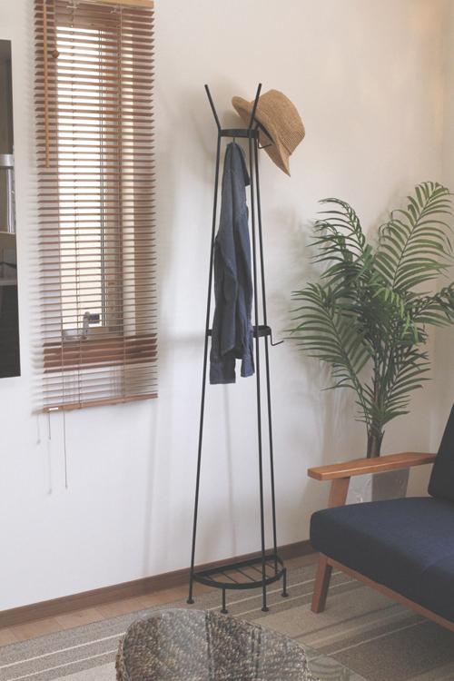 エレコートハンガー 半円ハンガー 壁付けハンガー アイアンファニチャー ポーチラック 帽子掛け 自由の女神 日本製 メーカー直販