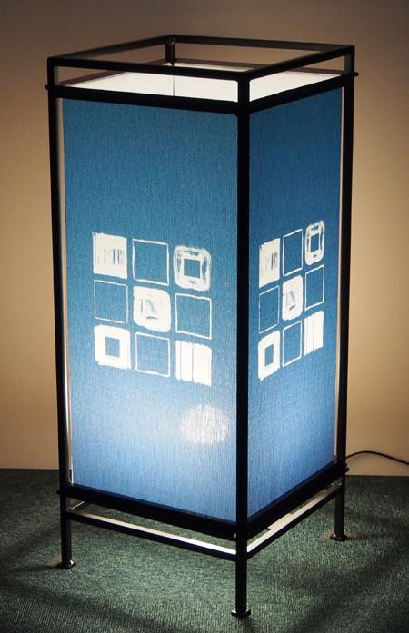 フロアーランプ ともしび W019 和風スタンド 和のインテリア 行灯 日本製