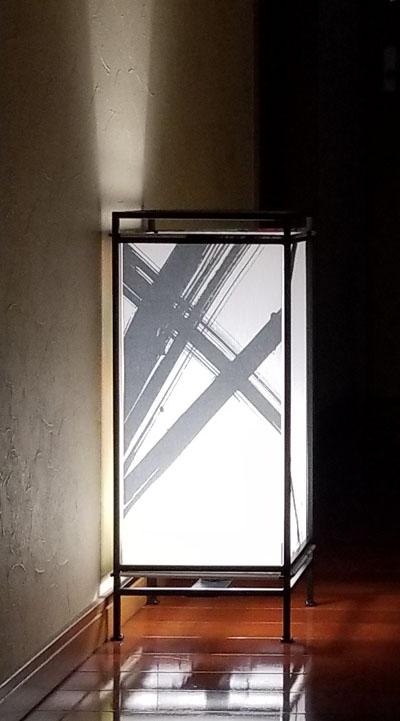 フロアーランプ ともしび W011 和風スタンド 和のインテリア 行灯 日本製