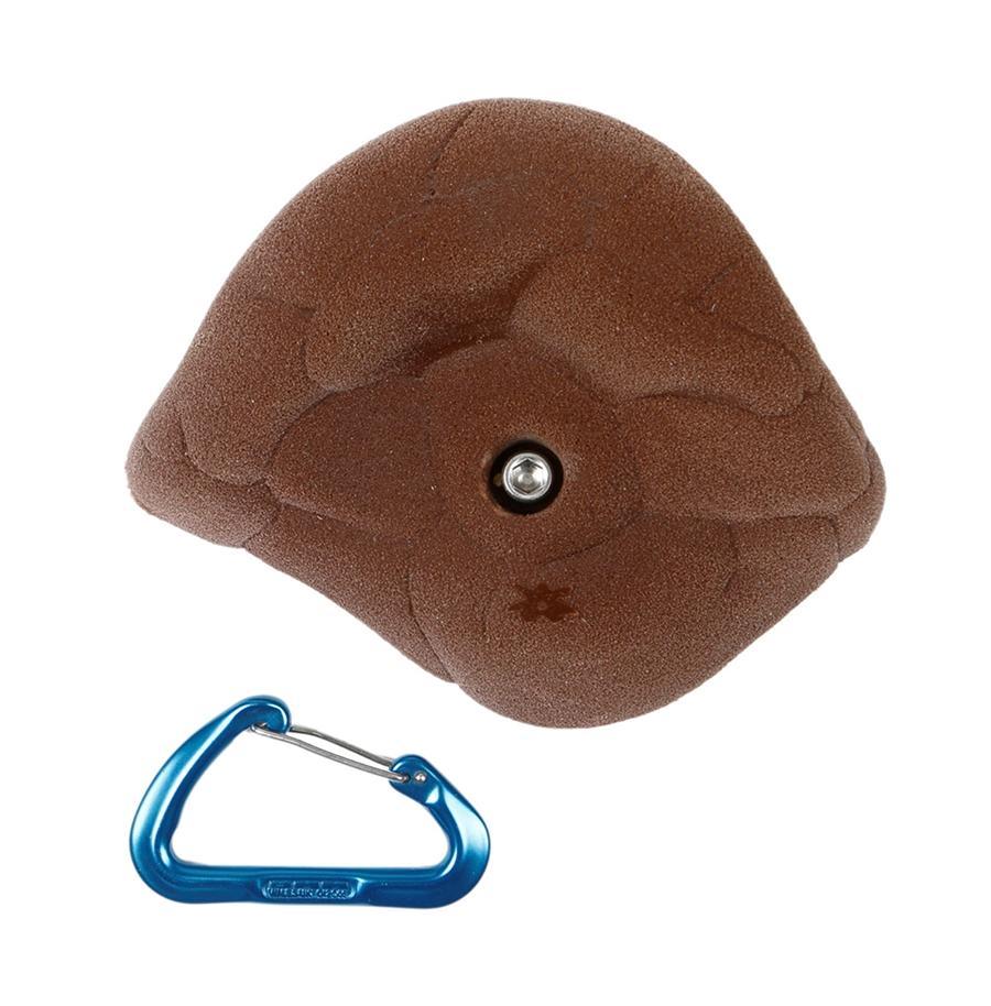 【Boltタイプ】  ダブルハンダー (Font)  - クライミングホールド【ボルダリング、自宅の壁に設置、クライミングウォール、ボルトで付け外し可能、丈夫で壊れない安心強度、人気の形状です】