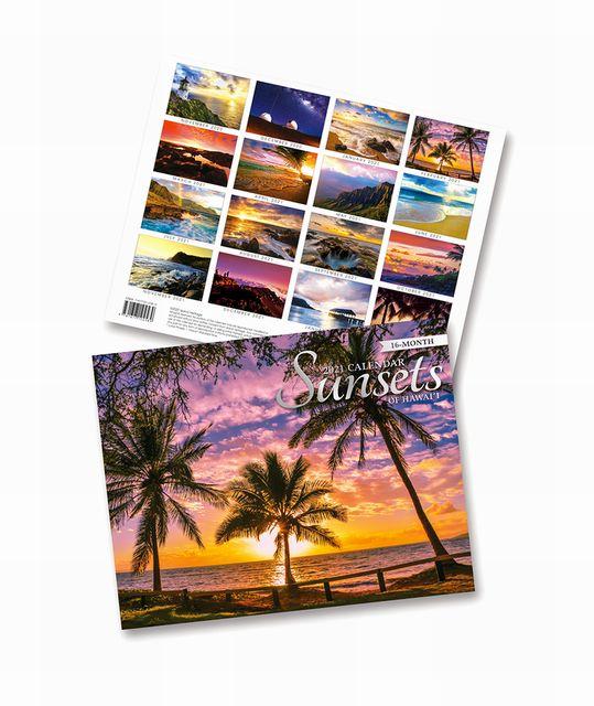 ハワイのお土産にも 定価の67%OFF ハワイアン雑貨 ハワイ 雑貨 ハワイアン アイランドヘリテイジの2021年 壁掛けカレンダー お土産 賜物 送料無料 フォトカレンダー ハワイお土産 メール便対応 2021年 インテリア サンセット ハワイアン雑貨アイランドヘリテイジ