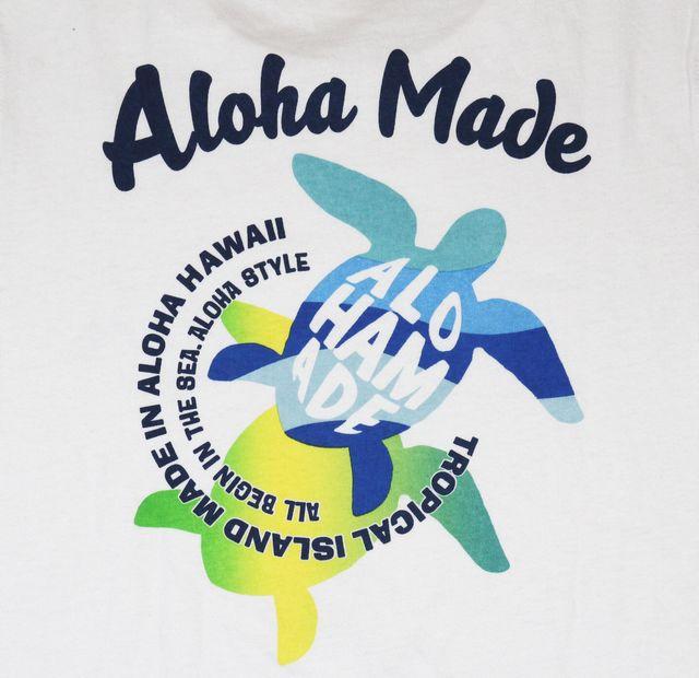 1fa7bace3ae1 ... SALE Hawaii Ann miscellaneous goods /ALOHA MADE aloha maid Lady's long  sleeves T-shirt ...