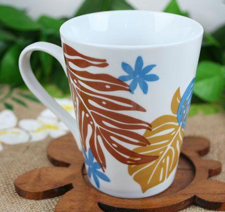 Hawaiian accessories / Interior / Hawaiian accessories Hawaiian mug (LisaLisa) / Monstera tiare (ENJ) Hawaiian sundries Hawaiian sundries Hawaii souvenir gift 10P19Dec15