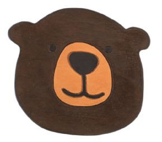Hawaiian Shop Holoholo: Wooden Round Stool (bear Shape