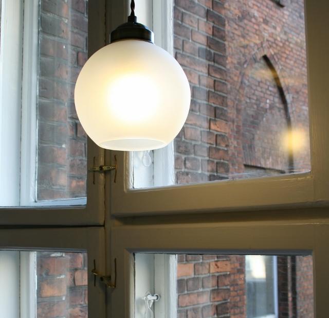 【LEDペンダントライト5年保証】【送料無料】オリジナルライト LED電球付属 ブラストボール ガラスシェード  照明器具 電気 天井照明 玄関 レトロ かわいい おしゃれ 新築 リフォーム お店 店舗 デザインすりガラ和風