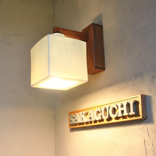 hom Hombox軒下灯 LED 木製 ブラケットライト 外灯 玄関灯