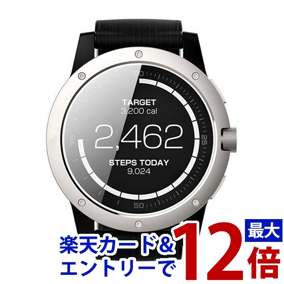 MATRIX スマートウォッチ PowerWatch Silver PW01JP