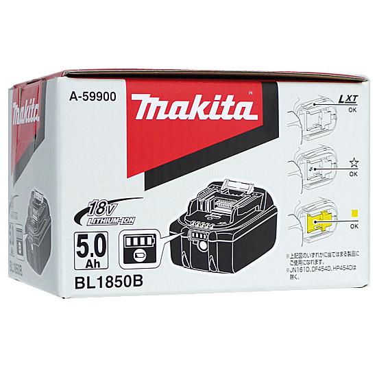 【キャッシュレスで5%還元】マキタ リチウムイオンバッテリー 5Ah BL1850B A-59900