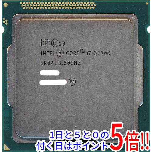 爆売りセール開催中 Core i7 3770K バルク LGA1155 SR0PL お値打ち価格で 3.5GHz 中古